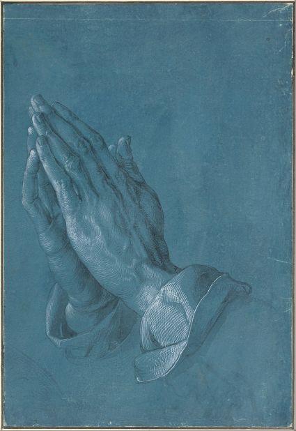 Albrecht Dürer, Praying Hands (1508) , via Wikimedia Commons