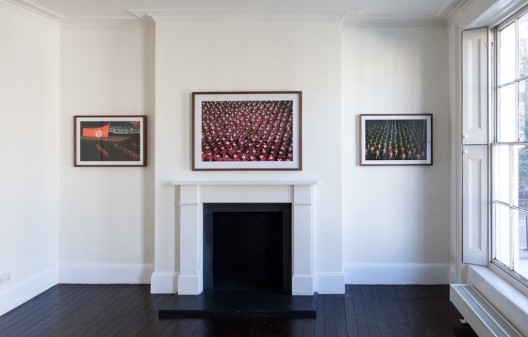 Installation view, First Floor, Dance of Order at 43 Inverness Street