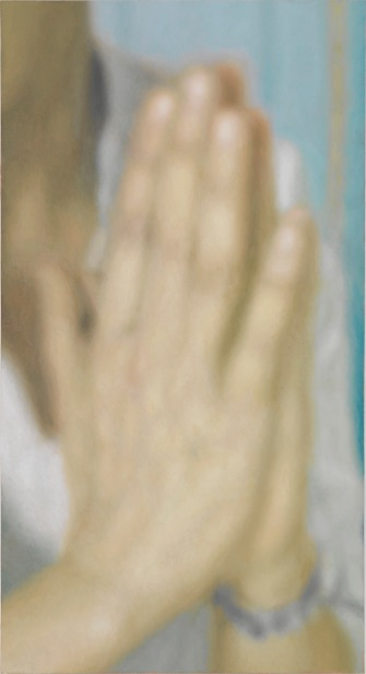 Y.Z. Kami, Untitled (Hands) III (2013). Photography by Rob McKeever. Courtesy Gagosian Gallery and Leila Heller Gallery, Dubai.