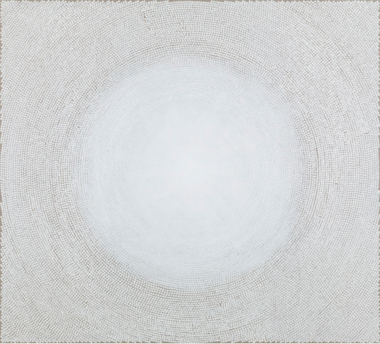 Kami_YZ_White Dome II_2014_Block ink and acrylic on linen_90 x 99 in _ 228.6 x 251.5 cm_YK_013_hires